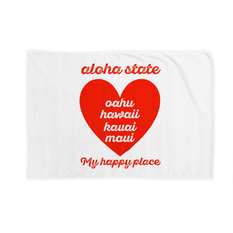 mahaloa968のaloha state (ハート) Blankets