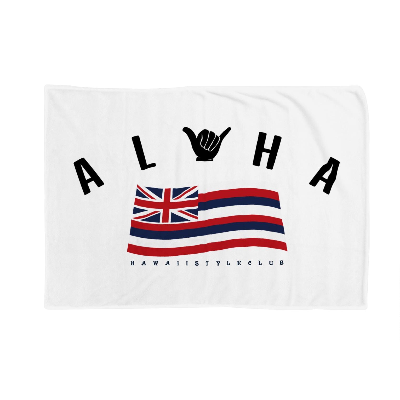 HSC ハワイスタイルクラブのAloha Flag Blankets