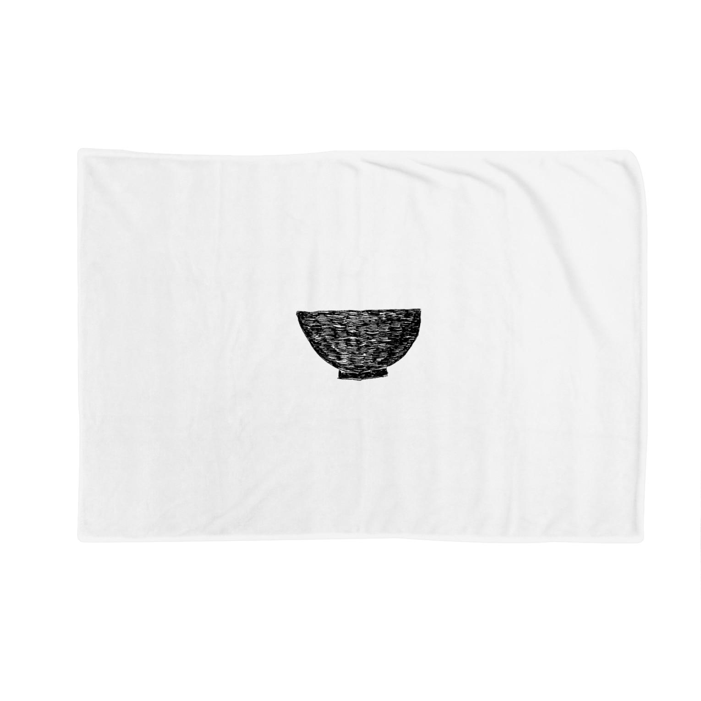 NIKORASU GOの丼 Blankets