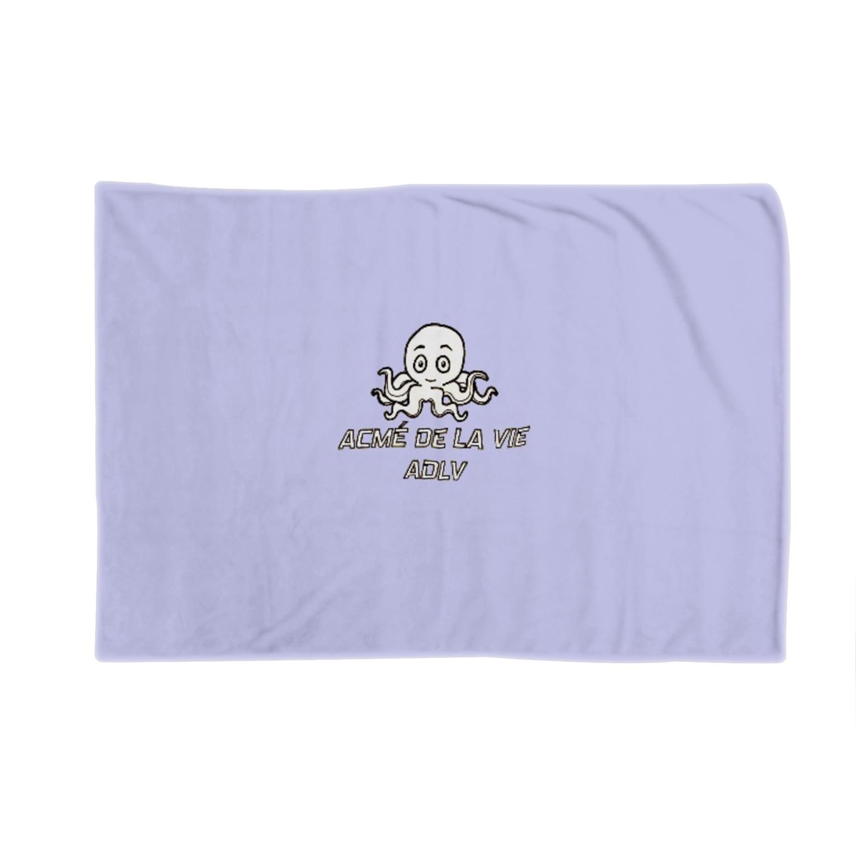 Yoon-1004-95のたこさん Blankets