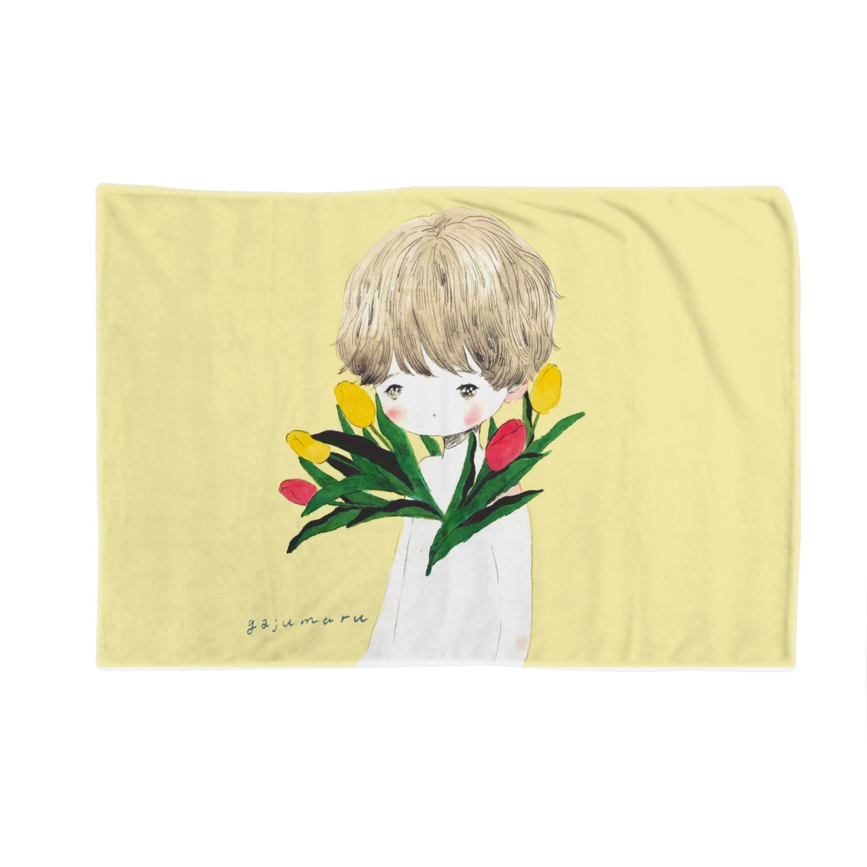 g g gのチューリップ男子 Blankets