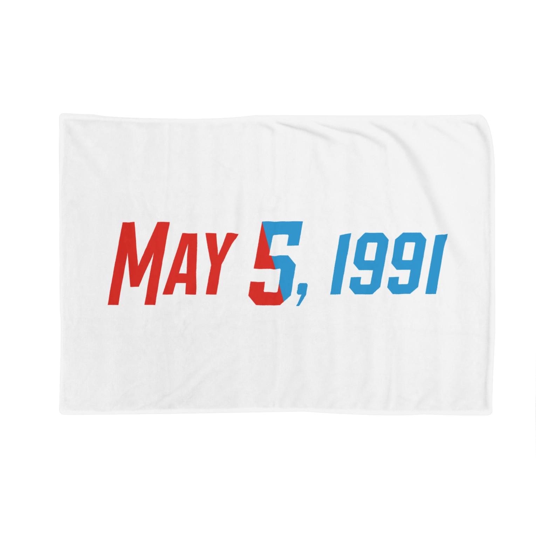 SANKAKU DESIGN STOREの1991年5月5日は彼らの記念日。 Blankets