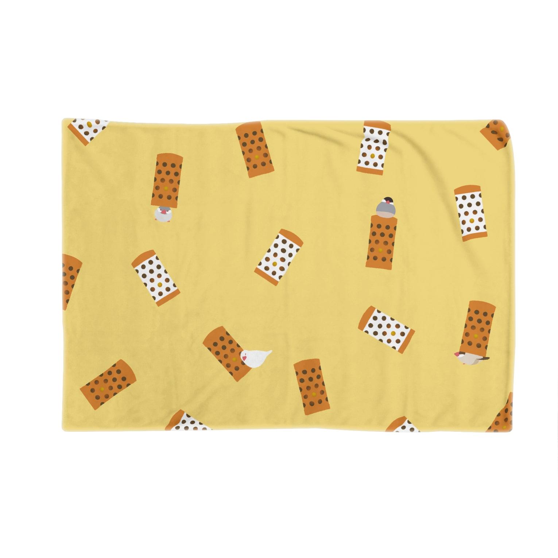 subacoのあの筒文鳥(きいろ) Blankets