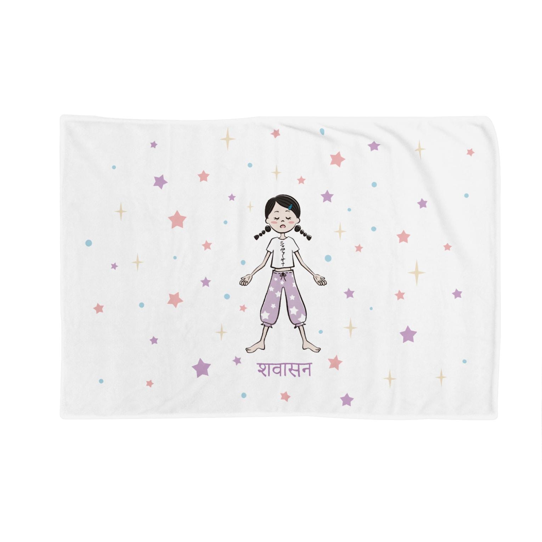 komomoaichiのシャヴァーサナの女の子 Blankets
