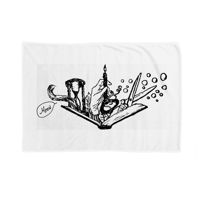 LUNARHOLIC STOREの-Noir+Angelique- メモリアルイラスト柄シリーズ Blankets