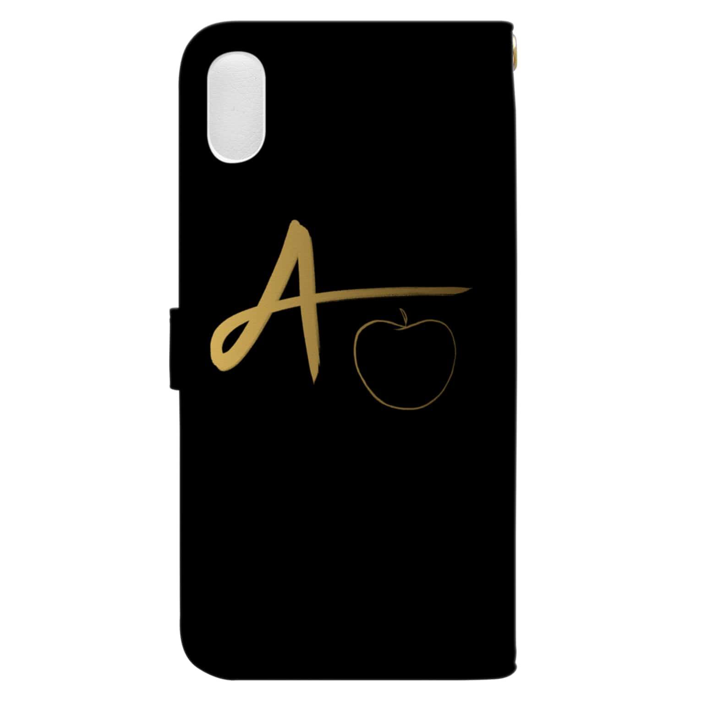 Apple.21🍎のAppleGaming#2 Book style smartphone caseの裏面