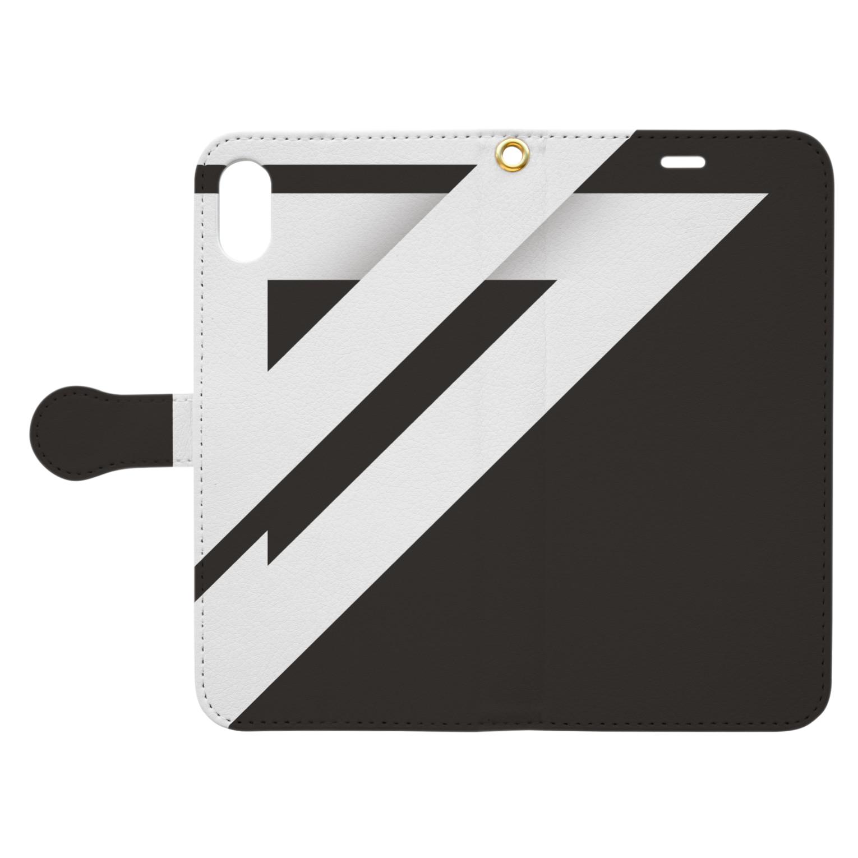 ダステル-DustelBoxのダステル-DustelBox Book-style smartphone caseを開いた場合(外側)