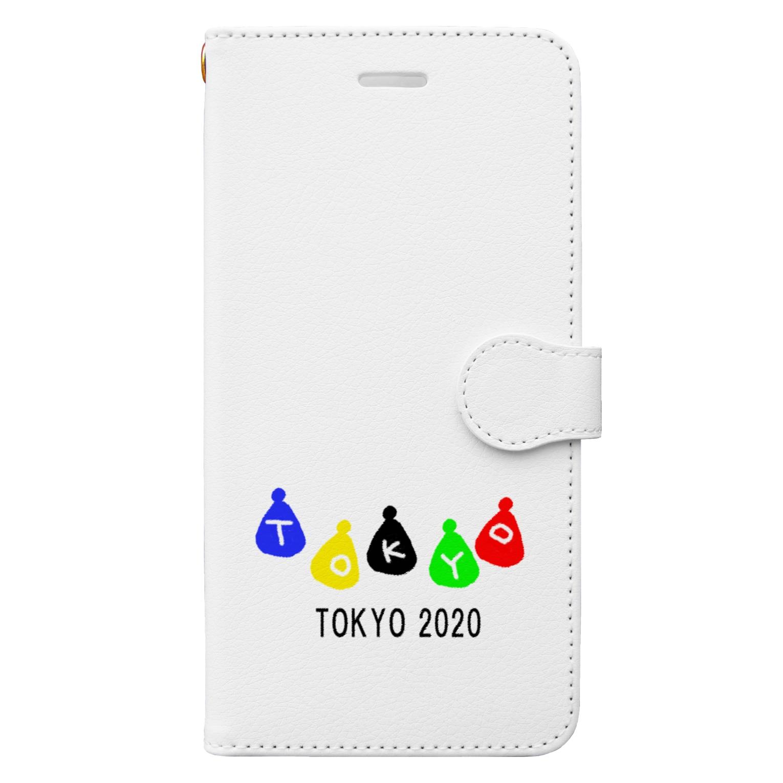 momogonのTOKYO2020ギフト Book-style smartphone case