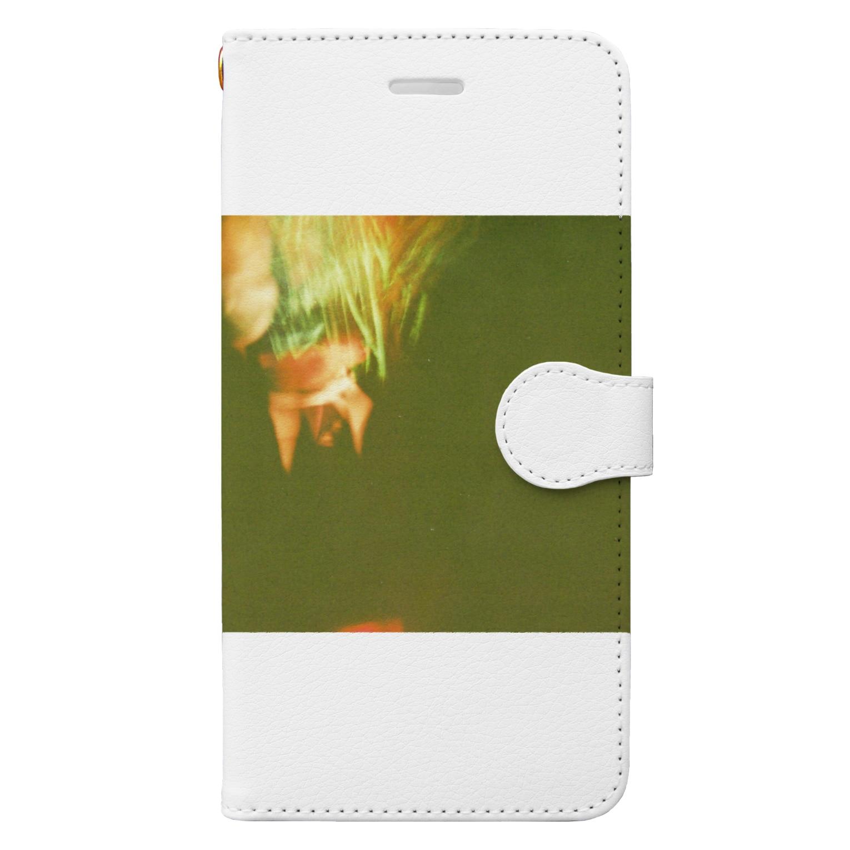 wa_d3300_の薔薇 Book-style smartphone case