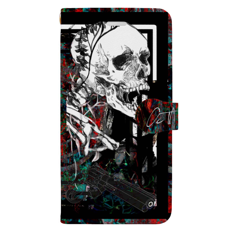 OctayuのNo.3(iPhone 6s Plus/6 Plus/8 Plus/7 Plus) Book-style smartphone case