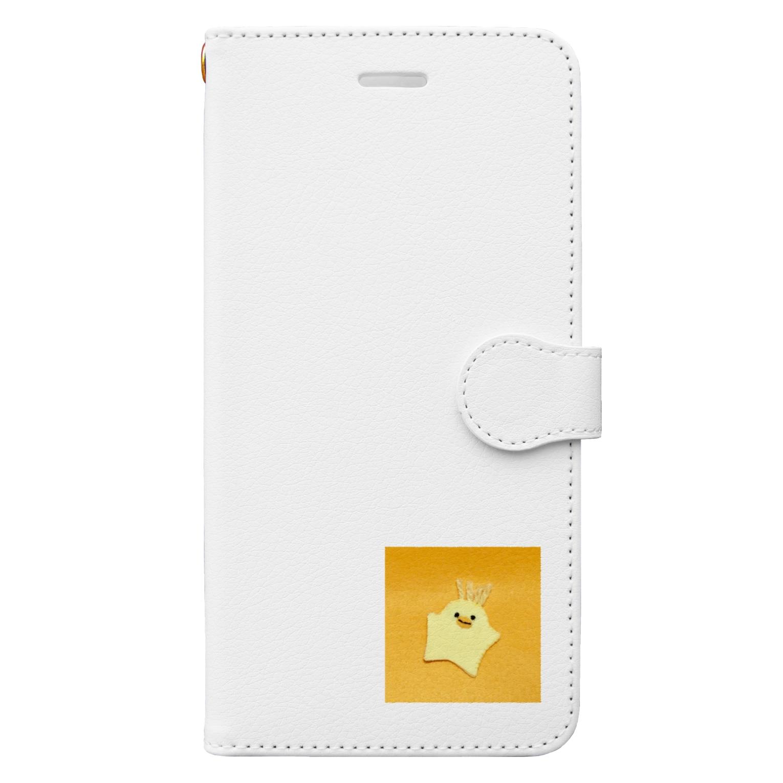 Shofuku_Mの毛生えひよこ Book-style smartphone case