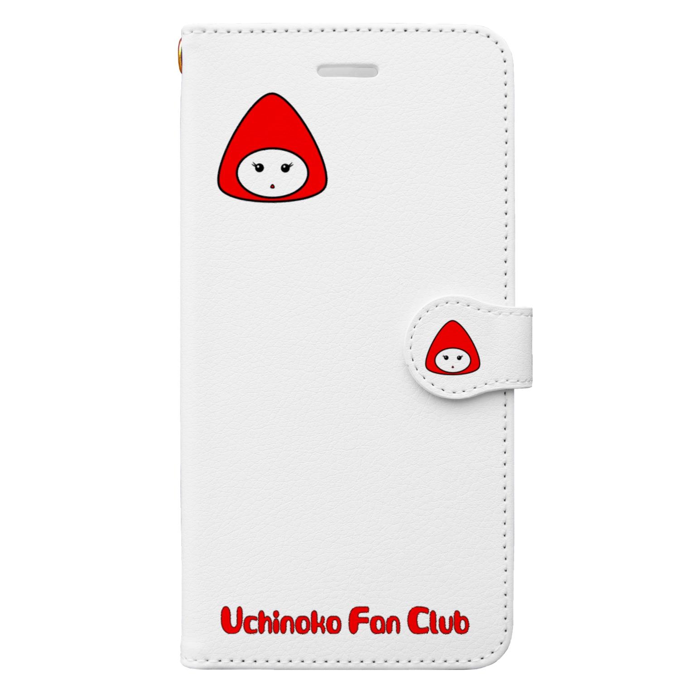 tomo-miseの赤ずきん 2 (スマホケース・手帳型) Book style smartphone case