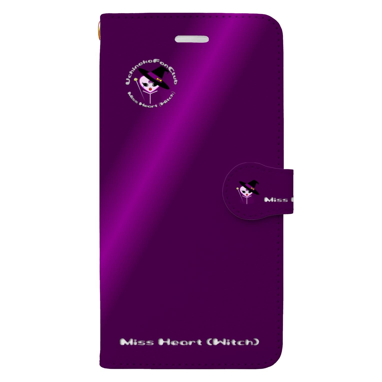 tomo-miseのMiss Heart (Witch)(スマホケース・手帳型) Book style smartphone case