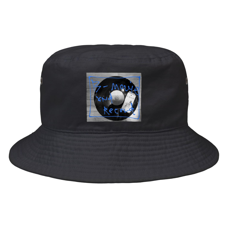 B-MOVIEのand record Bucket Hat