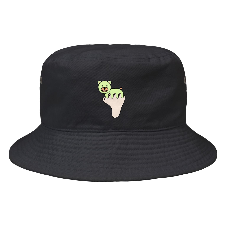 あしゆびふれんずのあしゆびくま Bucket Hat