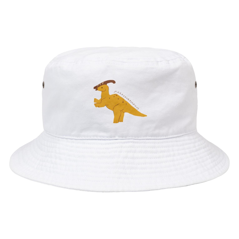 あおきさくらのパラサウロロフス Bucket Hat