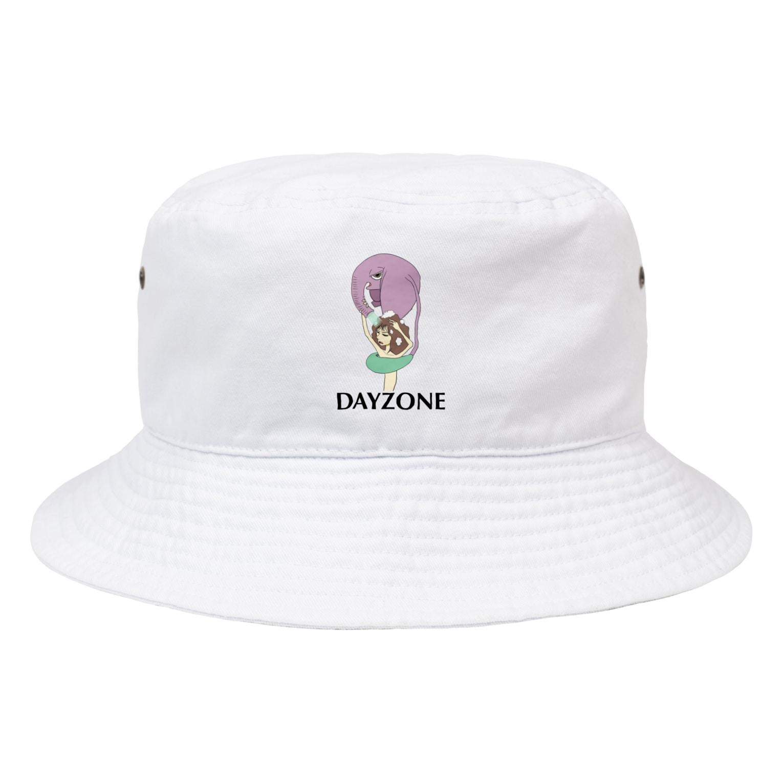 DAYZONEの象シャワー Bucket Hat