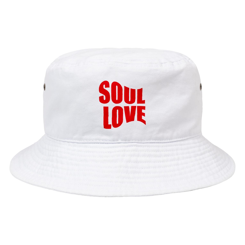 music bar SOUL LOVEのSOUL LOVE ロゴ forth Bucket Hat