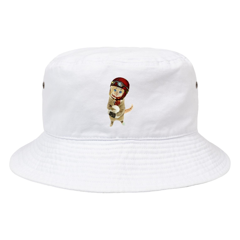 Rock catのOMUSUBI CAT Bucket Hat