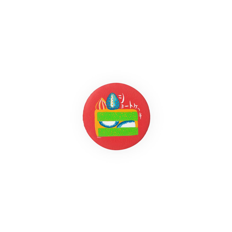 国道沿い商会のショートケーキ【あんみつラーメン】 Badges