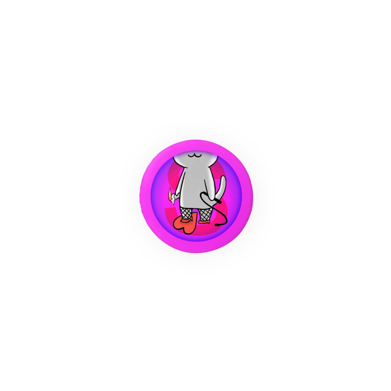PygmyCat suzuri店のSニャン Badges