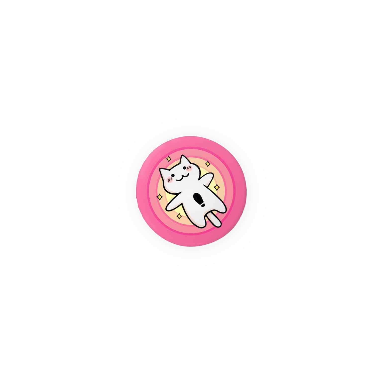 PygmyCat suzuri店のMニャン Badges