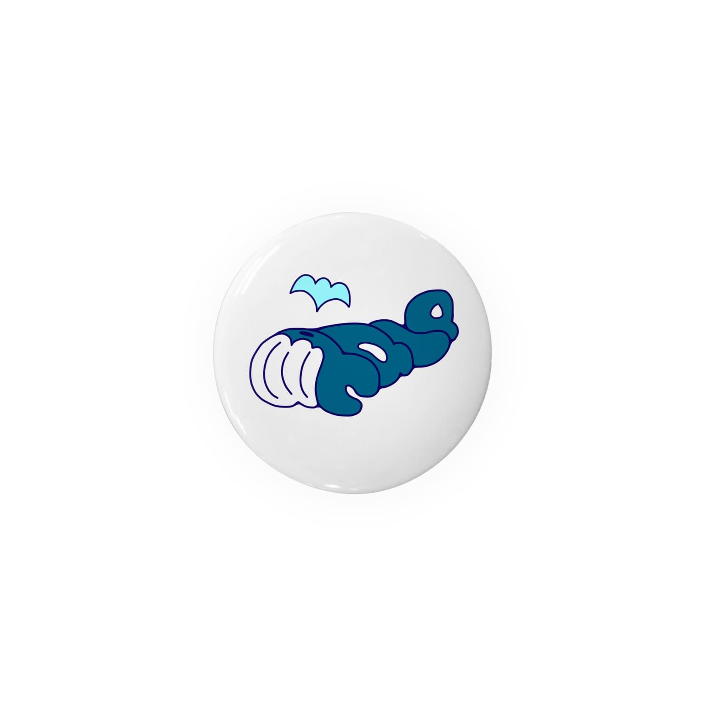 "su-ya320の""Whale""クジラ Badges"