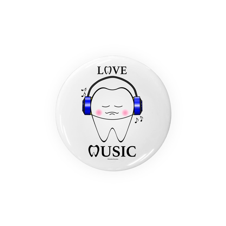 KAAK studioのTooth Music Blue Badges