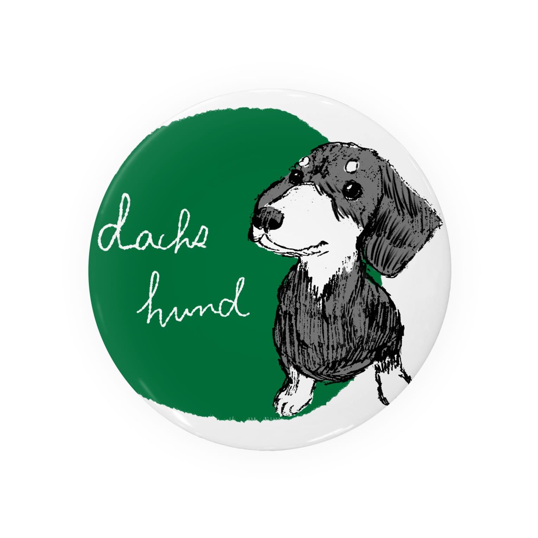 iccaのダックスフント green Badges
