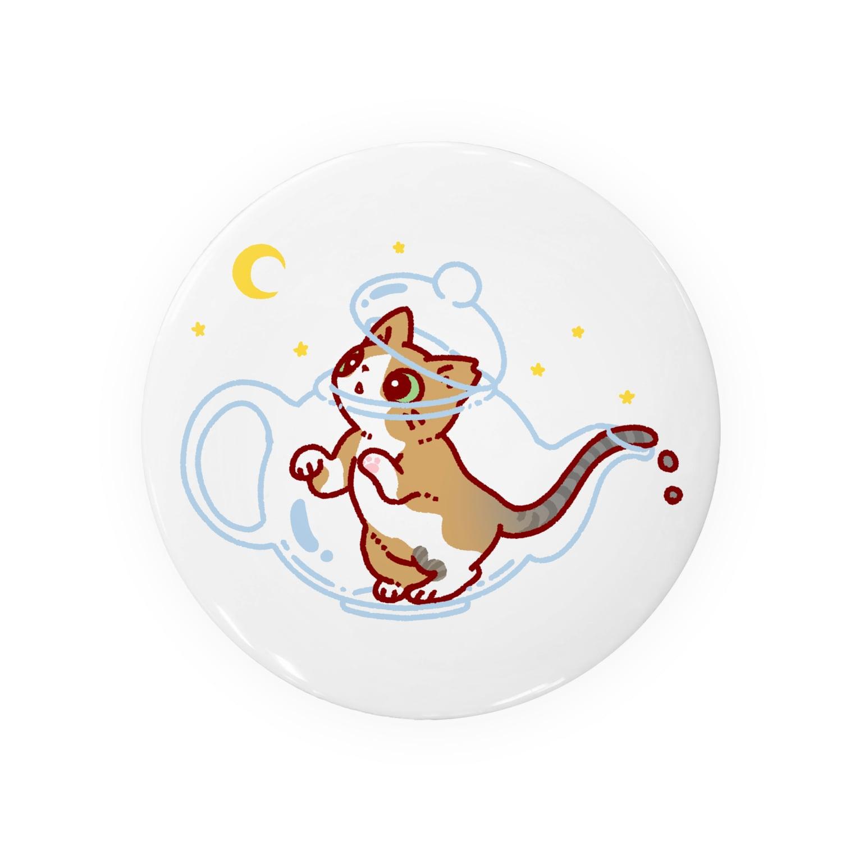 OKOMEchanの猫TEA Badges