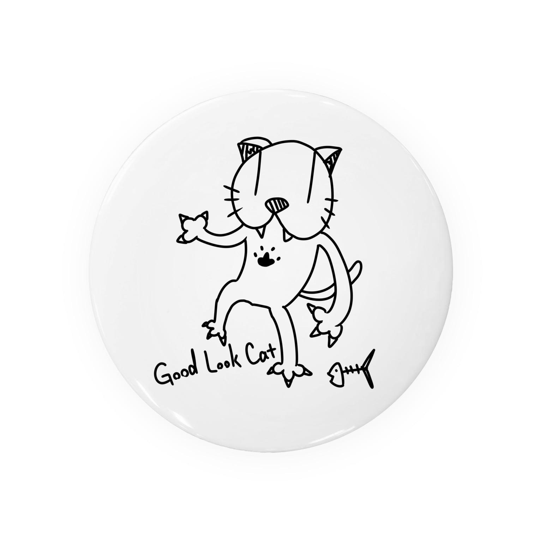 TT_ARTSHOPのGood Look Cat01 Badges