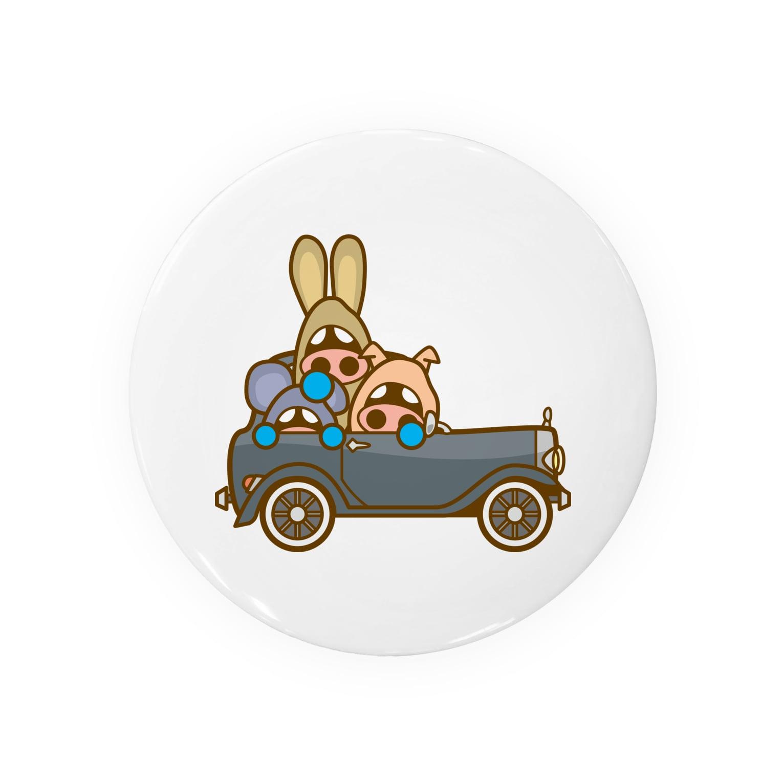 コメビツくんのイタダキ団のクラシックカー Badges