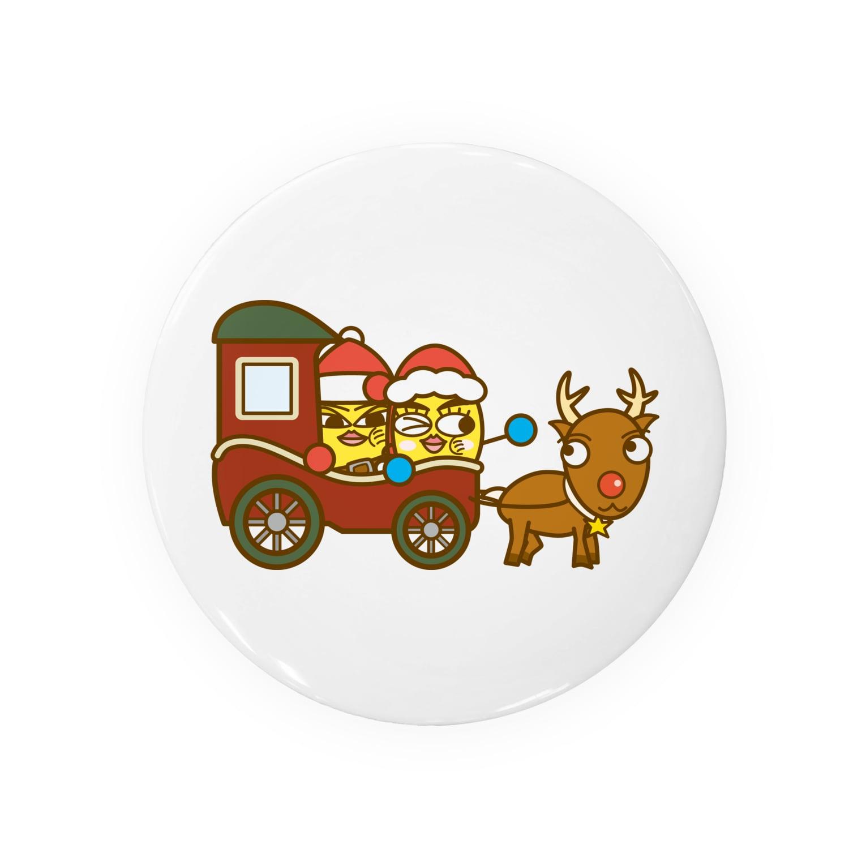 コメビツくんのメグミさんとテドリさんの馬車 Badges