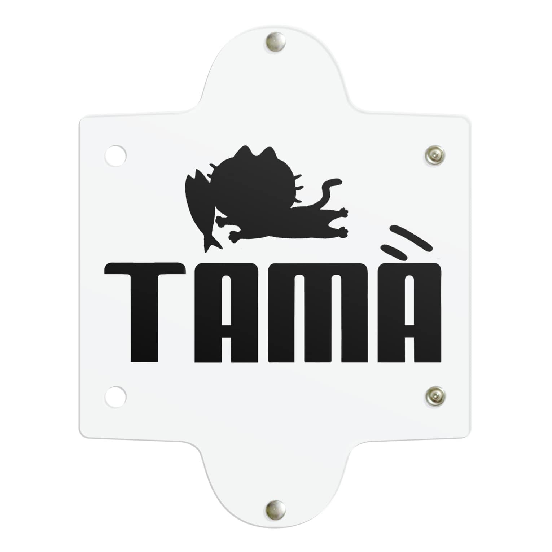 ひよこねこ ショップ 1号店のTAMA (PUMAパロディ) Clear Multipurpose Case