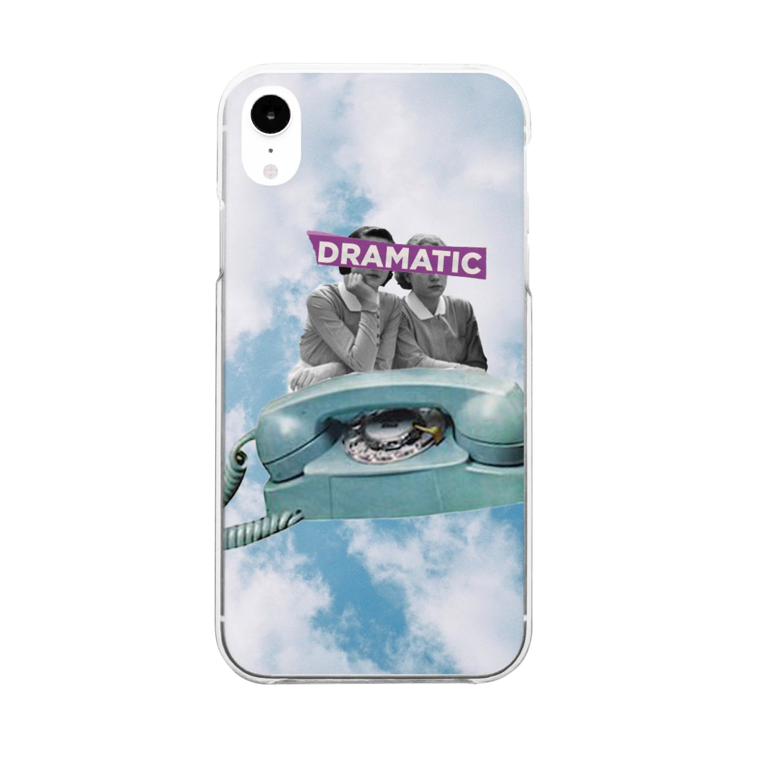 Hararingoの04.dramatic Clear smartphone cases
