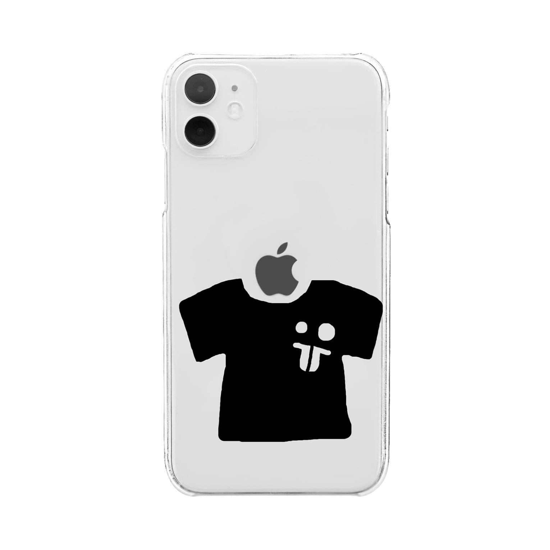 bocoxodesignShopのsummerMONSTAR【T】 Clear smartphone cases