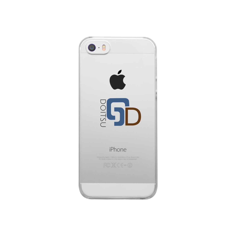F net.のDoitsu design スマホケース Clear smartphone cases