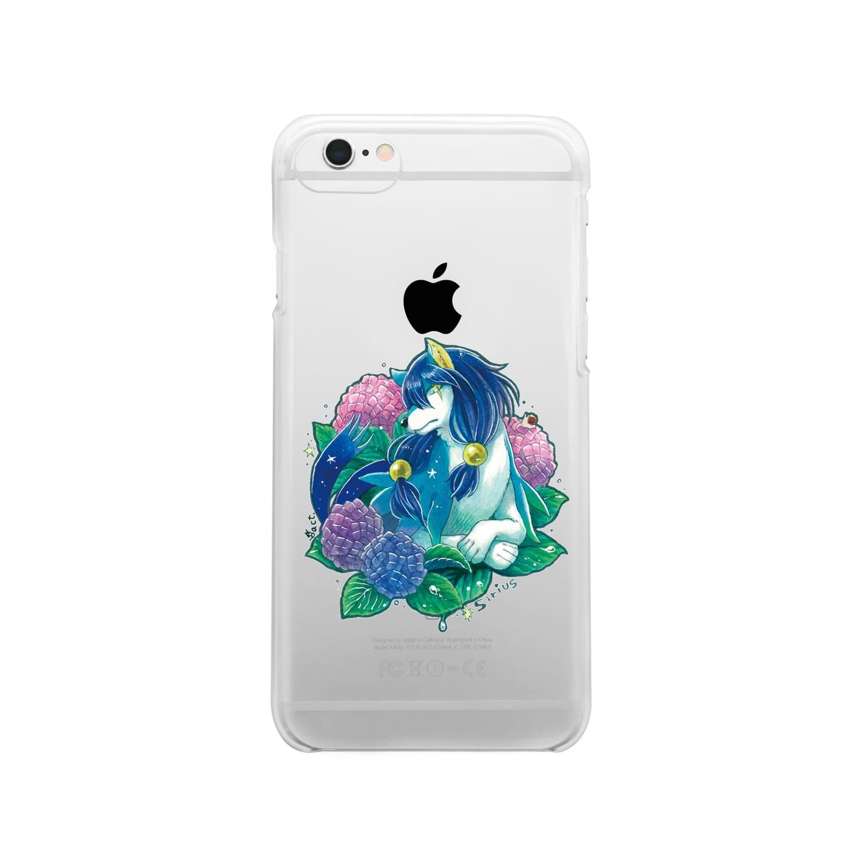 BARE FEET/猫田博人のシリウス・クリアケース Clear smartphone cases