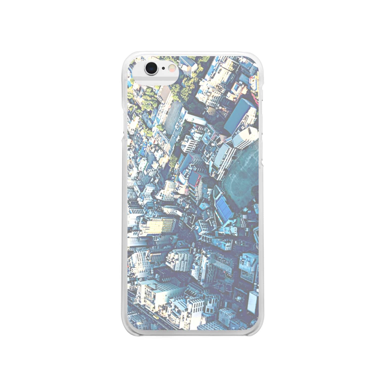 mebuki_unkoの🏙 Clear smartphone cases