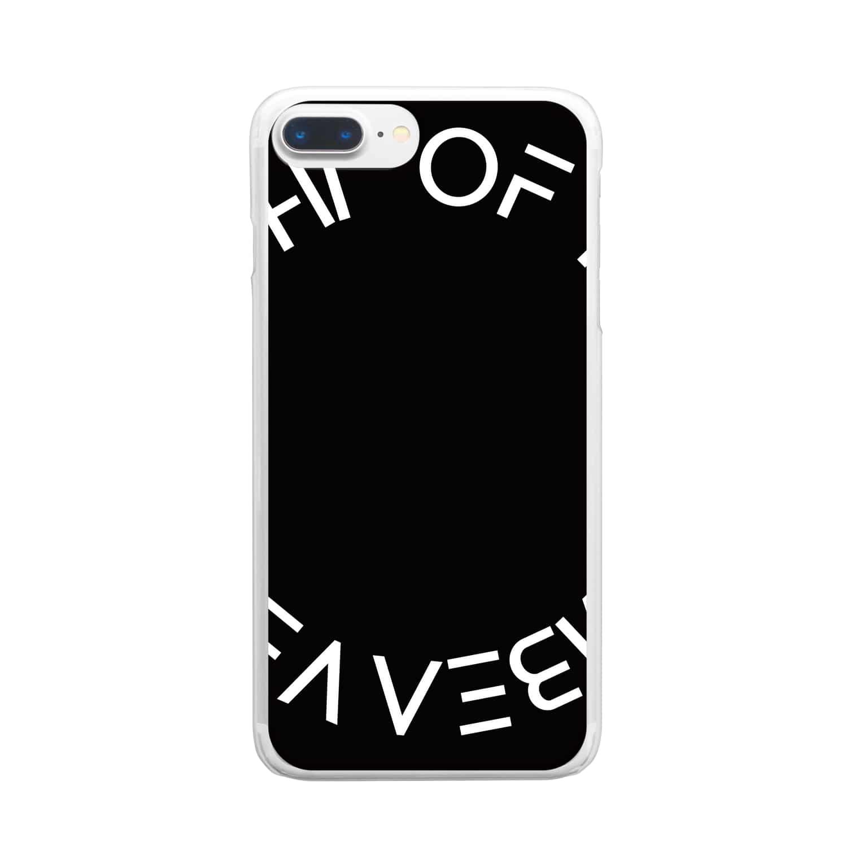 NIGHT OF THE ZOMBEAVERZのNIGHT OF THE ZOMBEAVERZ Clear smartphone cases