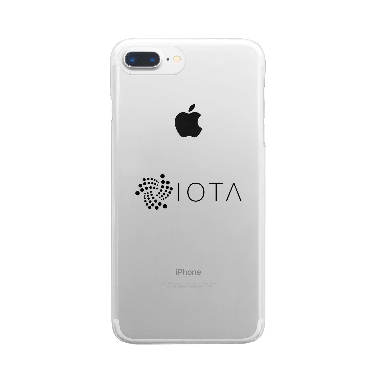 OWLCOIN ショップのIOTA アイオータ Clear smartphone cases