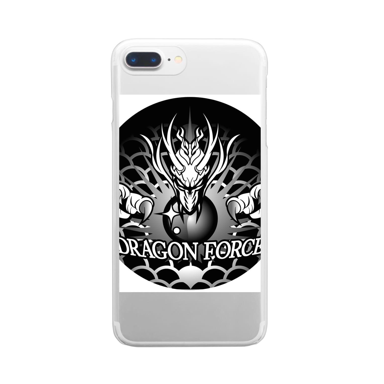 よかもんのDRAGON FORCE 龍 Clear smartphone cases