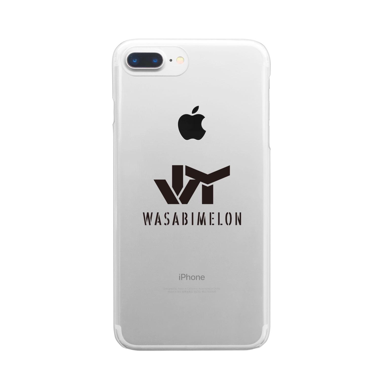 JのWASABI MELON Clear smartphone cases