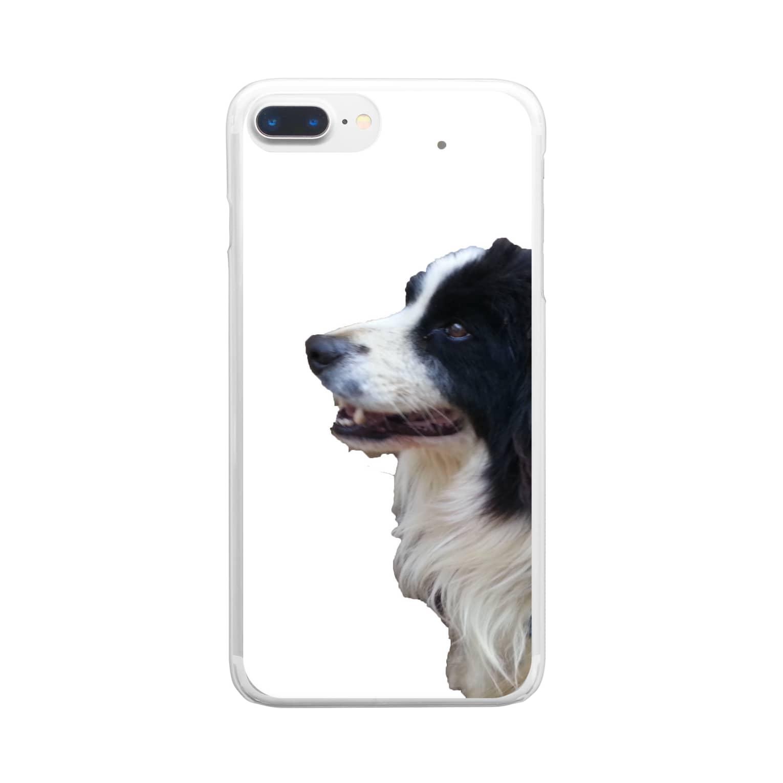 第1020惑星ハリーカ オンラインショップ suzuri店のえめ リアルversion Clear smartphone cases