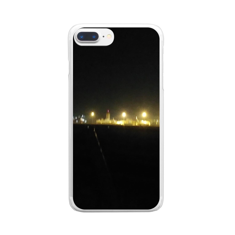 第1020惑星ハリーカ オンラインショップ suzuri店のハリーカの景色 Clear smartphone cases