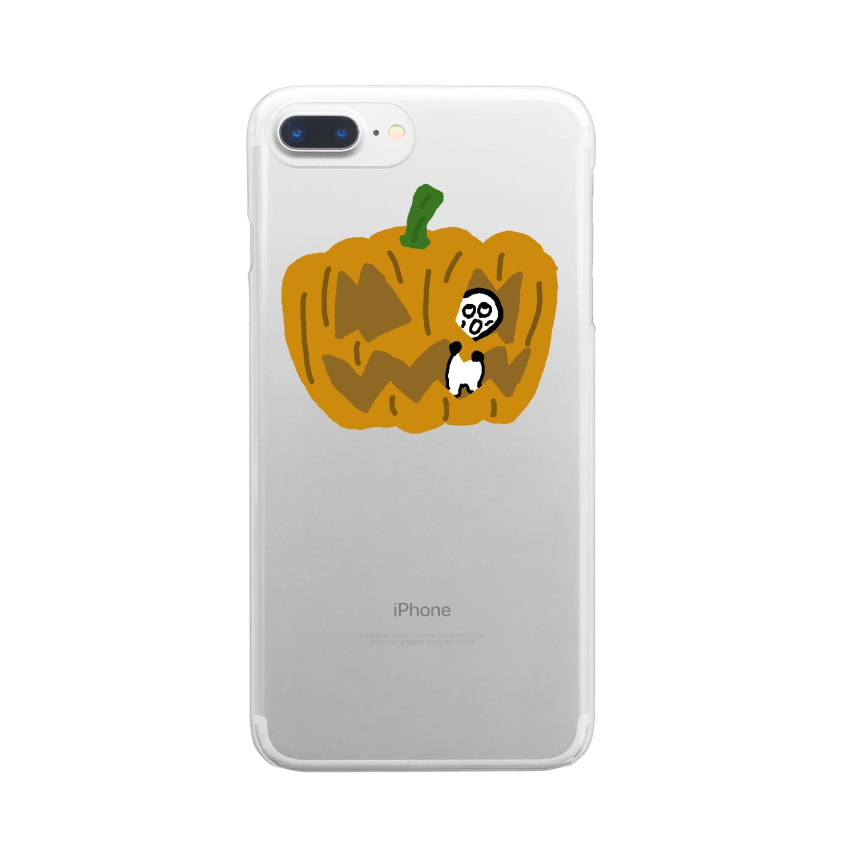 Venizakuraのぱんぷきんくん Clear smartphone cases