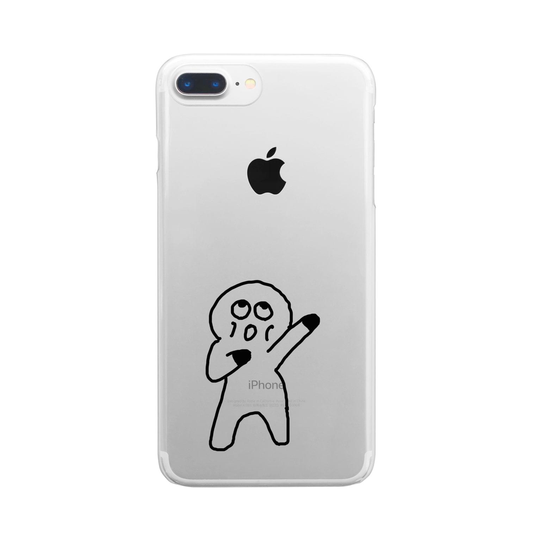 Venizakuraのおーくん Clear smartphone cases
