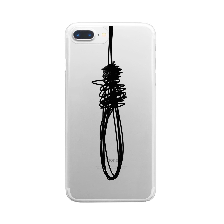 一藤 二鷹のKnot Clear smartphone cases