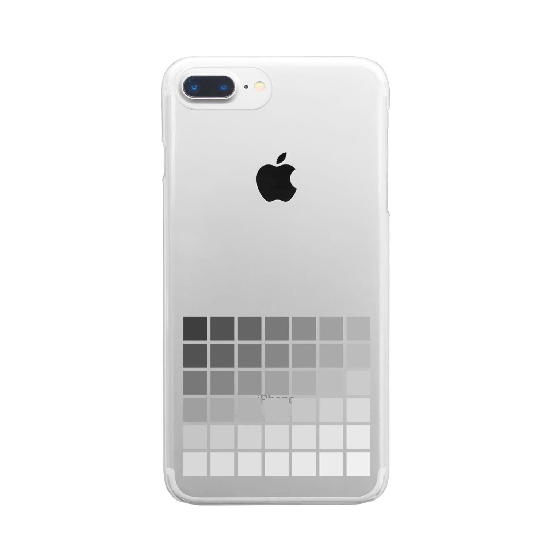 zukkyzukkyの曇 Clear smartphone cases