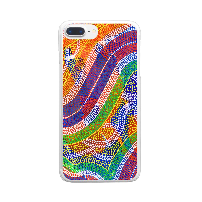 namatosatoのd-fullsize-normal Clear smartphone cases